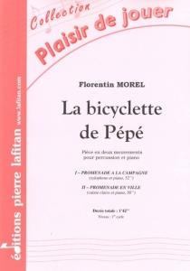 PARTITION LA BICYCLETTE DE PÉPÉ
