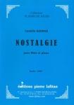 PARTITION NOSTALGIE (FLÛTE, C. GEORGE)