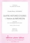 PARTITION QUATRE HISTOIRES D'OGRES – 1. MÂCHECOU