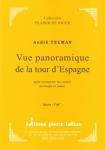PARTITION VUE PANORAMIQUE DE LA TOUR D'ESPAGNE