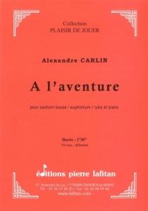PARTITION A L'AVENTURE (SAXHORN BASSE)