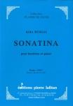PARTITION SONATINA (HAUTBOIS)