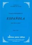 PARTITION ESPAÑOLA (FLÛTE)