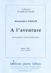 PARTITION A L'AVENTURE (TROMPETTE)