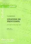 PARTITION LÉGENDE DE PRINTEMPS