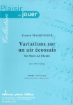 PARTITION VARIATIONS SUR UN AIR ÉCOSSAIS (FLÛTE)